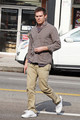 Michael C. Hall Leaves Kings Road Cafe
