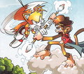 Midair - archie-sonic-the-hedgehog photo