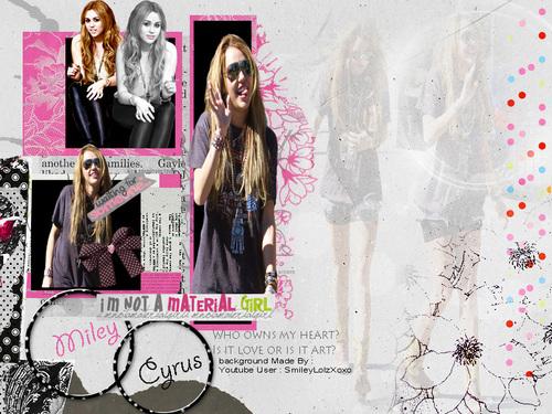 Miley Cyrus BG door : SmileyLolzXoxo
