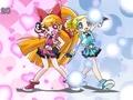 Momoko and Miyako - powerpuff-girls-z screencap