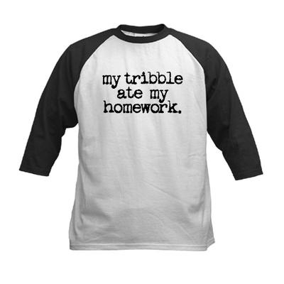 My Tribble Ate My Homework Tee