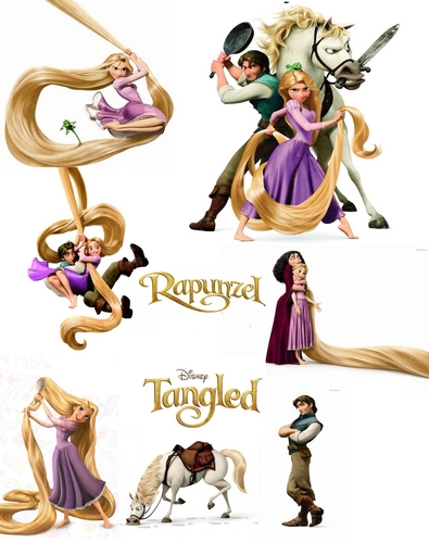 "My work ""Tangled"""
