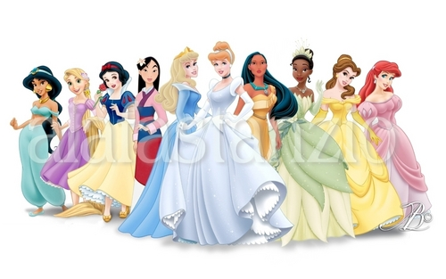 NEW Disney Princess Lineup ( Rapunzel )
