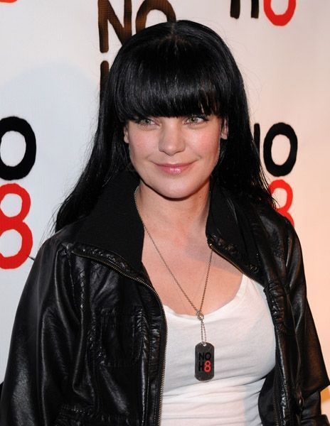 pauley perrette tattoos. pauley perrette in latex