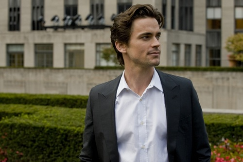White Collar wallpaper containing a business suit and a suit entitled Neal Caffrey