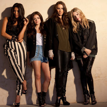 PLL Nylon Photoshoot