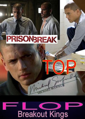 PRISON BREAK Top - Breakout Kings Flop