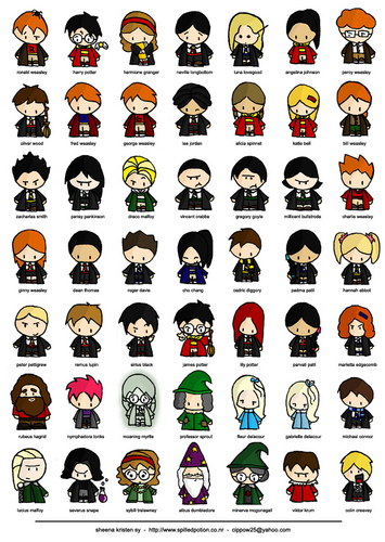 People of the world of Harry Potter
