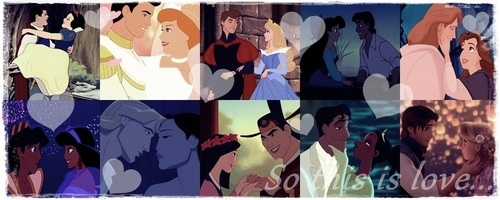 Princesses in Love