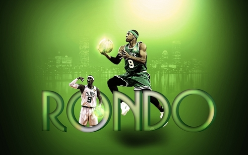 Rajon Rondo wallpaper possibly containing a sign titled Rondo9
