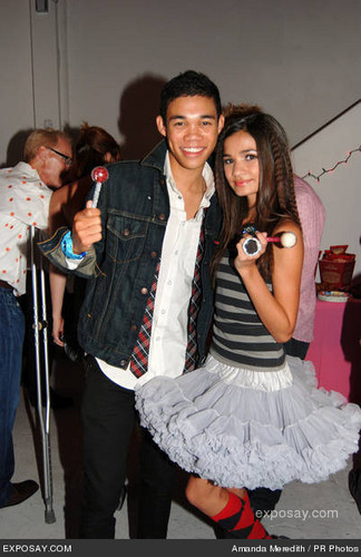 Roshon Fegan and Zendaya Coleman