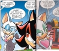 Rouge and Shadow - archie-sonic-the-hedgehog photo
