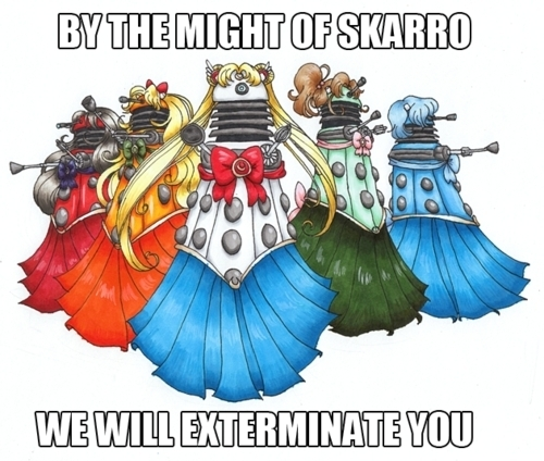 Sailor Daleks?!
