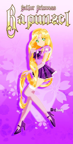 Disney Princess wallpaper called Sailor Disney Princess