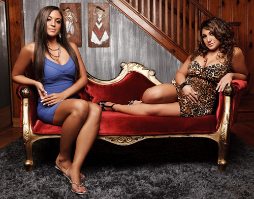 Sammi and Deena - jersey-shore Photo