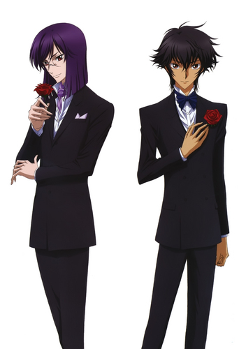 Setsuna Seiei and Tieria Erde