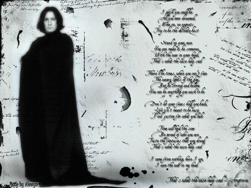 Severus Snape wallpaper probably with a sign and a cloak called Severus Snape