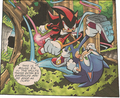 Shadow vs Sonic - archie-sonic-the-hedgehog photo