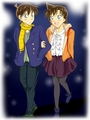 Shinichi x Ran - shinichi-and-ran fan art