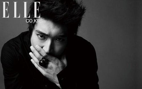Siwon Elle magazine