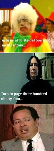 Snape y Sammy xD