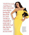 Sofia in Ocean Drive Magazine - January 2011