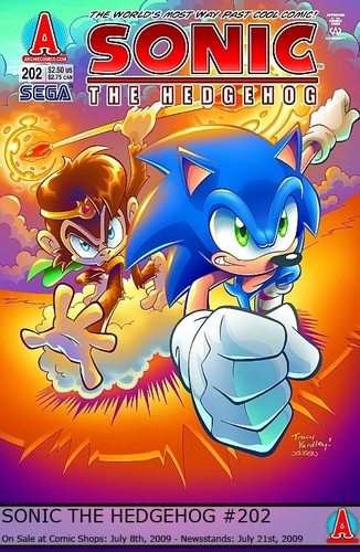 Sonic the Hedgehog issue 202 - archie-sonic-the-hedgehog Photo