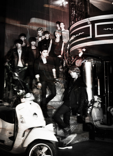 Super Junior - Bonamana 4th Album litrato Shoot