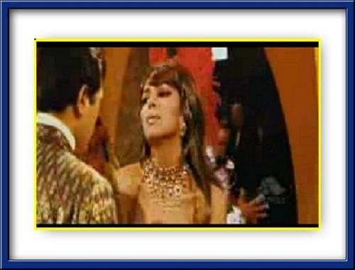 Deepika Padukone wallpaper called Super Star Rajesh Khanna & Deepika Padukone in Om Shanthi Om - 2007