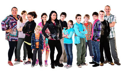 tracy beaker returns wallpaper probably containing a well dressed person entitled THE CAST