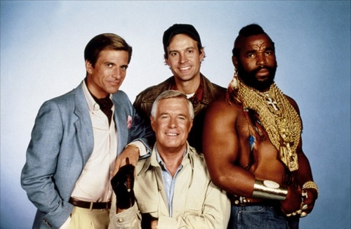 The A-Team wallpaper probably with a well dressed person entitled The A-Team season 2 cast