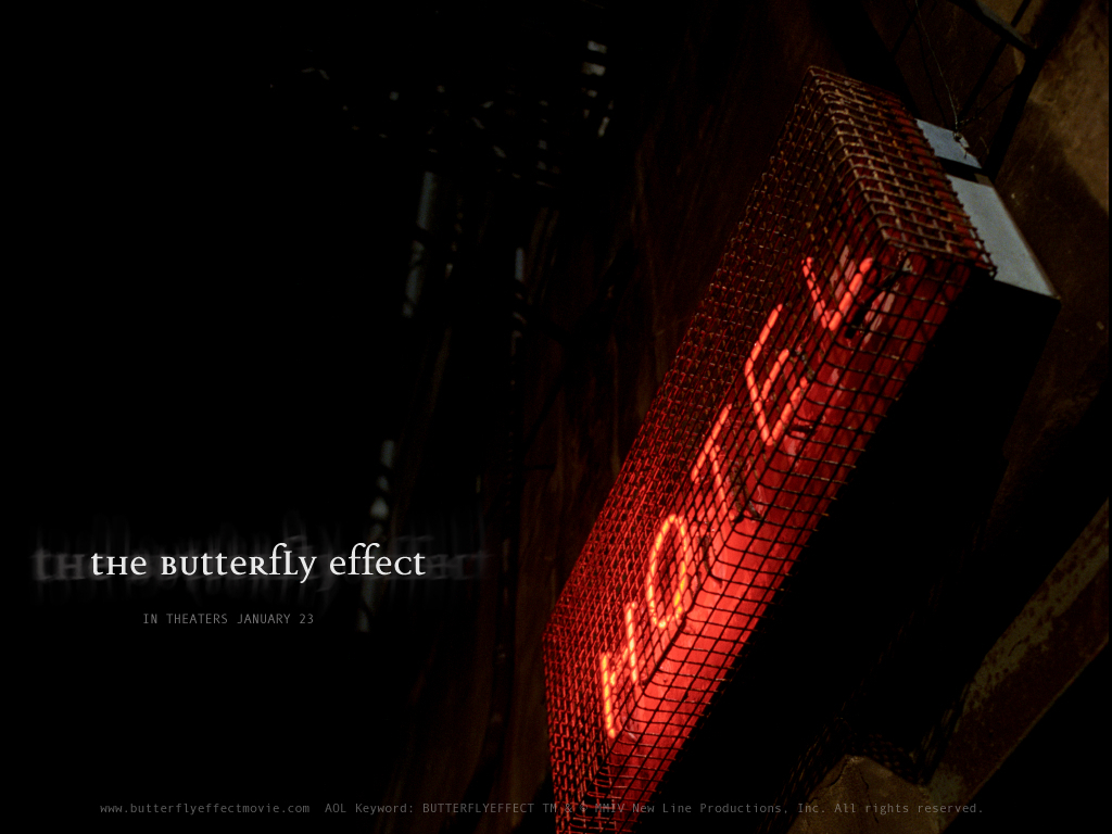 an analysis of the film butterfly effect Stream the butterfly effect film online in hd  the killing of a coworker delivers active vigilante rorschach directly into his very own expansive analysis .