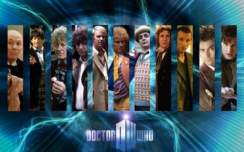 Doctor Who wallpaper containing a fountain titled The Eleven Doctors