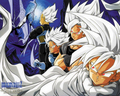 The Neo Saiyans - dragon-ball-z wallpaper