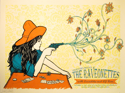 The Raveonettes Rock Poster