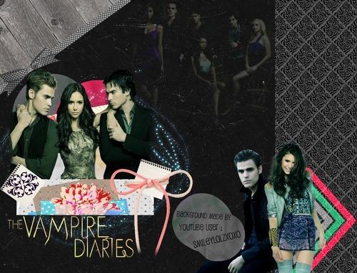 The Vampire Diaries BG By : SmileyLolzXoxo