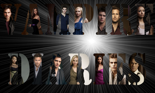 The Vampire Diaries TV Show images The Vampire Diaries Cast HD wallpaper and background photos
