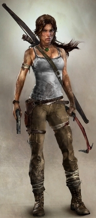 The new Lara Croft