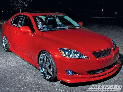 Tuned Lexus IS250