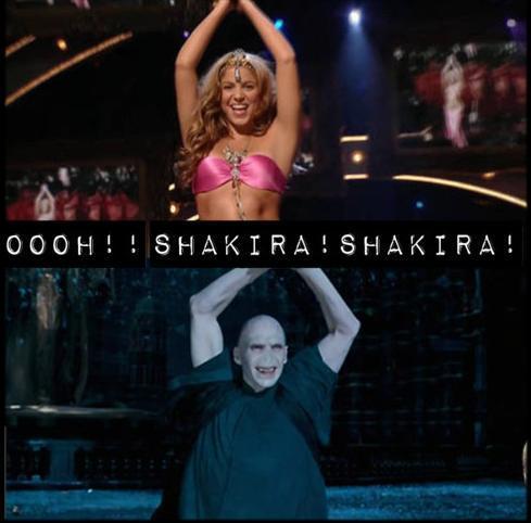 Voldemort vs Shakira