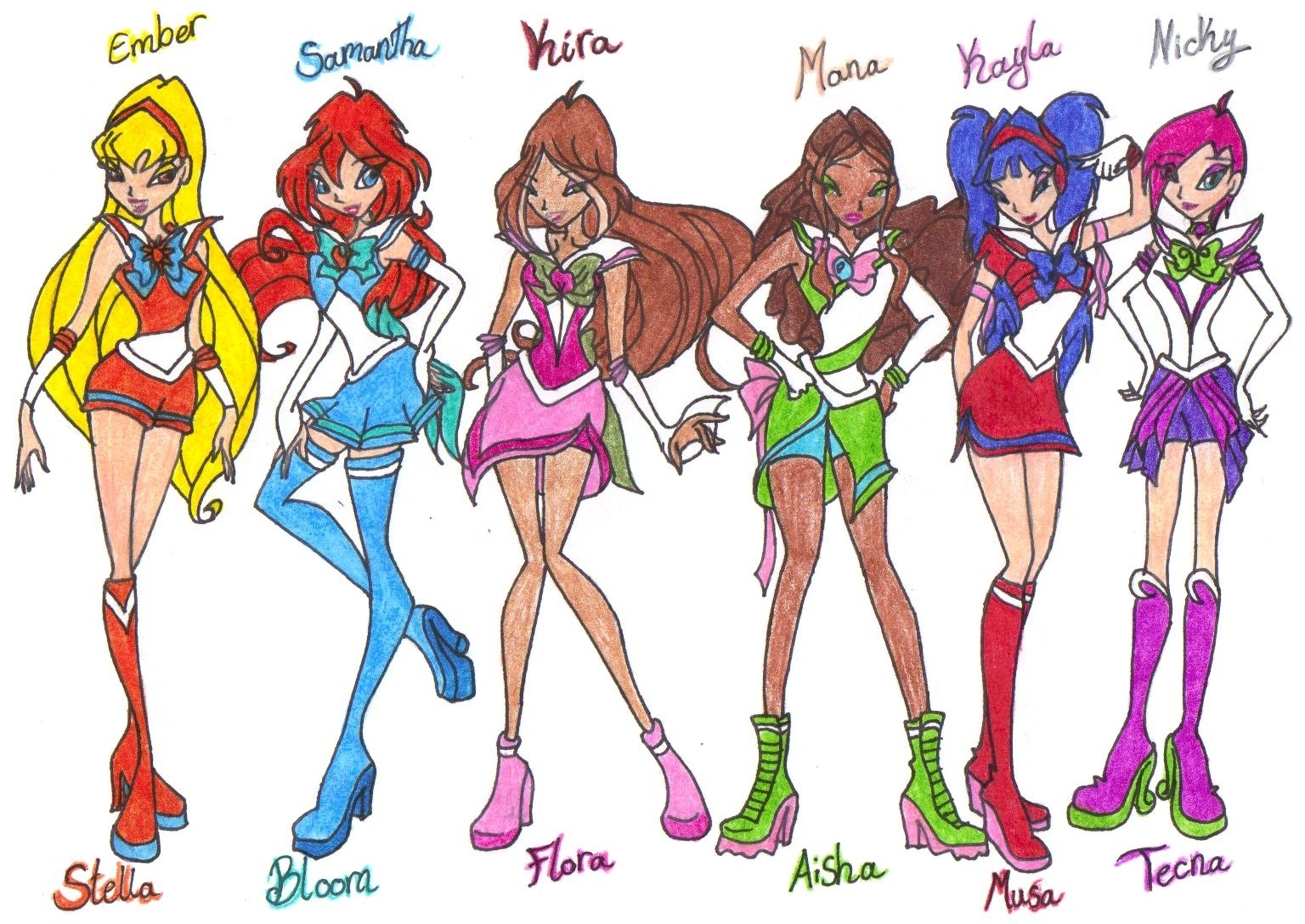 Winx Club Names For Pinterest