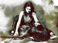 bella and a wolf - make-your-own-twilight-story wallpaper