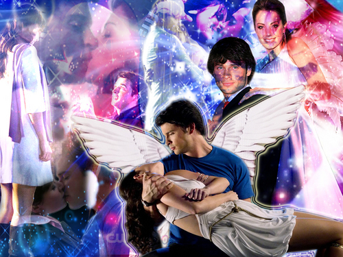 clois !! - smallville Wallpaper