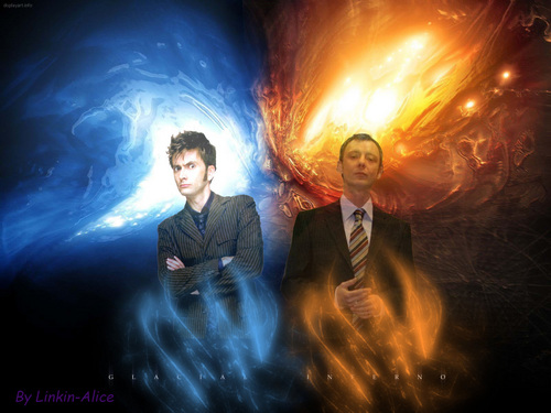 Doctor Who Roleplay wallpaper containing a business suit called doctor vs master!!!:)