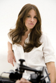 evangeline lilly-L'Oréal Sublime mousse, dengan mus photoshoot