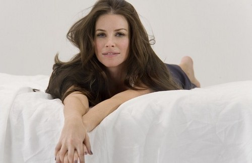 evangeline lilly-L'Oréal Sublime mousse photoshoot