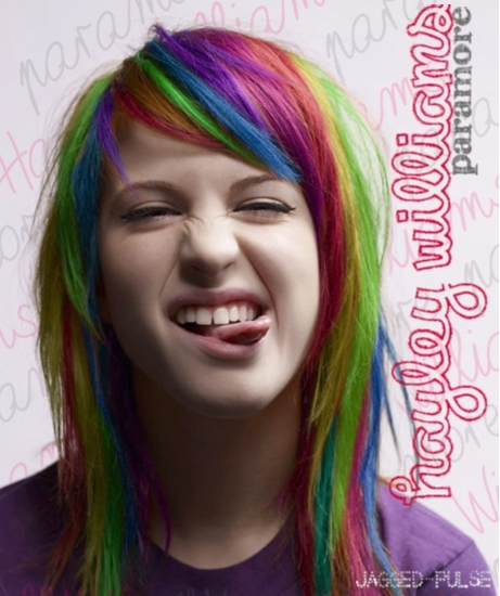 rainbow* - Hayley William's Hair - 173.6KB