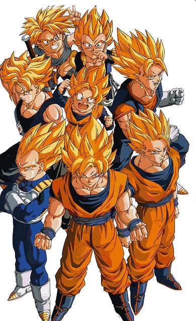 dbz images sayins wallpaper and background photos - Dbz