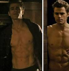 sexy Hot stefan and his yumalisous abs - the-vampire-diaries-tv-show