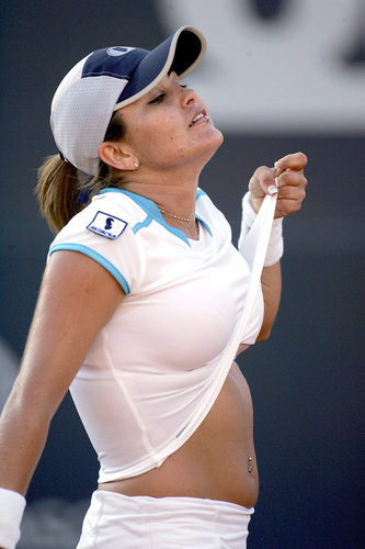 sexy Tennis breast